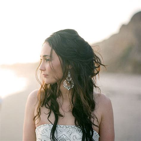 beachy waves wedding hairstyles half up wedding hairstyle with curls a flowing
