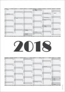 Kalender 2018 Til Print Gratis Print Selv Kalendere