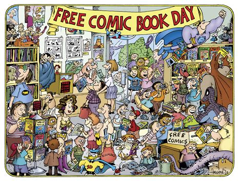 50 artists you should books why you should celebrate free comic book day with your kid