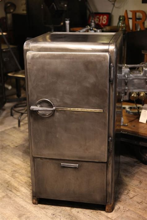 Frigo Largeur 45 5991 by Meuble Industriel Anciend Frigo Frigelux Epoque 1940 En