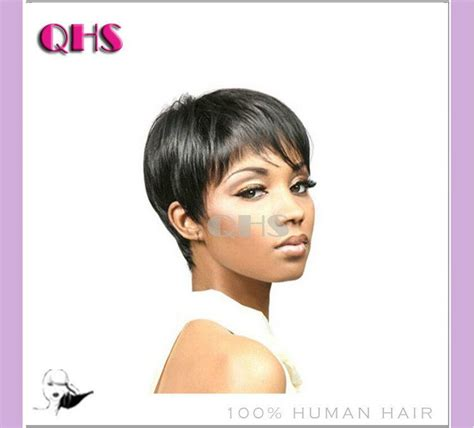 grow african american american hair in a pixie cut human natural hair pixie cut wig adjustable size human