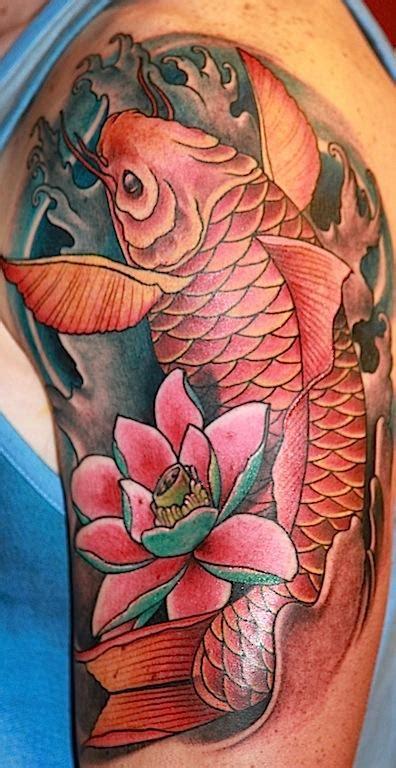 koi tattoo traditional off the map tattoo tattoos traditional japanese koi