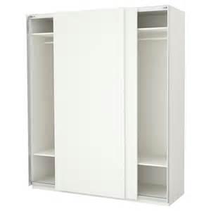 pax wardrobe white hasvik white 200x66x236 cm ikea