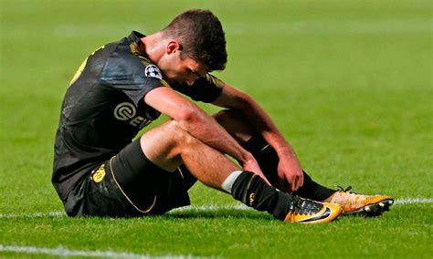 christian pulisic injury pulisic misses out on huge chions league clash due to