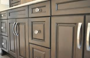 Handles On Kitchen Cabinets by Crystal Cabinet Knobs