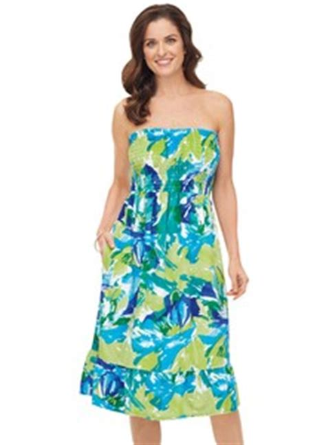 Dress Carol Wash terry smocked top dress carolwrightgifts