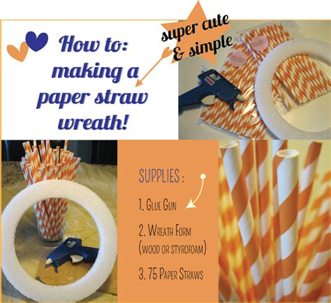 How To Make A Paper Straw - squareview studios how to a paper straw wreath