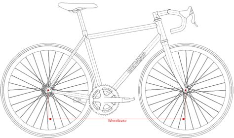 bike frame template bicycle frame dimensions www bikecad ca