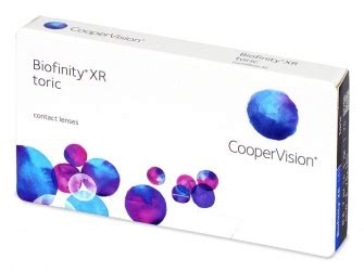 biofinity toric xr (6 pack) contactlenses ae