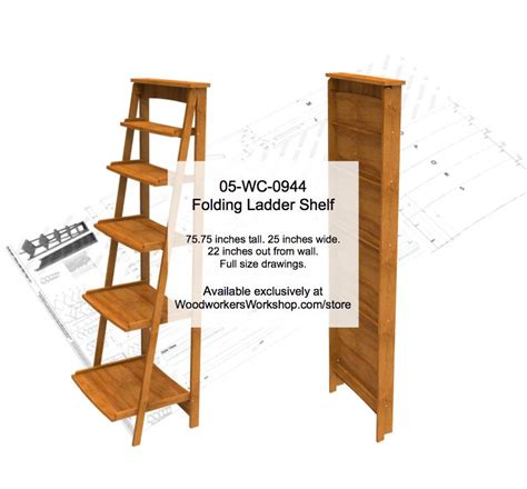 ladder bookcase plans wooden ladder bookcase plans 500iso