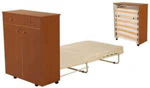 Folding Guest Bed With Cabinet Cabinet With Fold Away Bed Pisolo Foldaway Bed With
