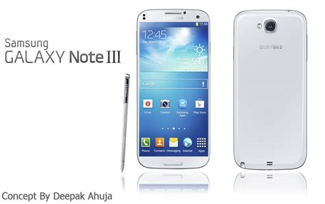 samsung galaxy note 3 samsung galaxy note 3 by deepak ahuja has realistic specs