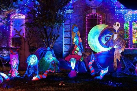 nightmare yard decor halloween pinterest