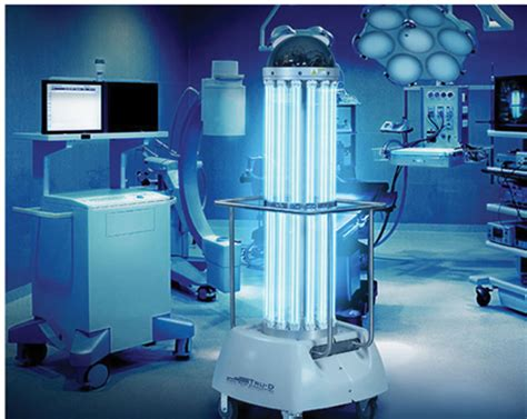 uv light in hospitals seeing the light on room disinfection