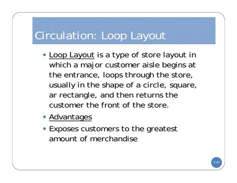 warehouse layout advantages dc lecture five store layout and design