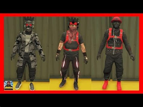gta 5 online | top 3 rng outfits/ tryhard outfits