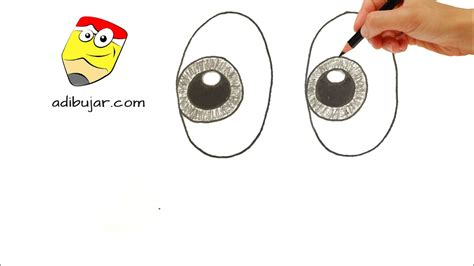 imagenes de ojos faciles de dibujar como dibujar ojos f 225 ciles a l 225 piz emojis whatsapp how
