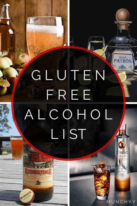 gluten free light list bacardi rum gluten free