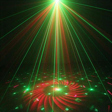 lens  gobos green red laser light projector blue led