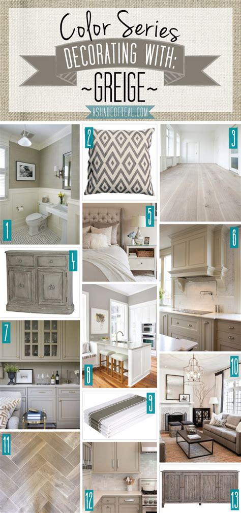 color series decorating with greige