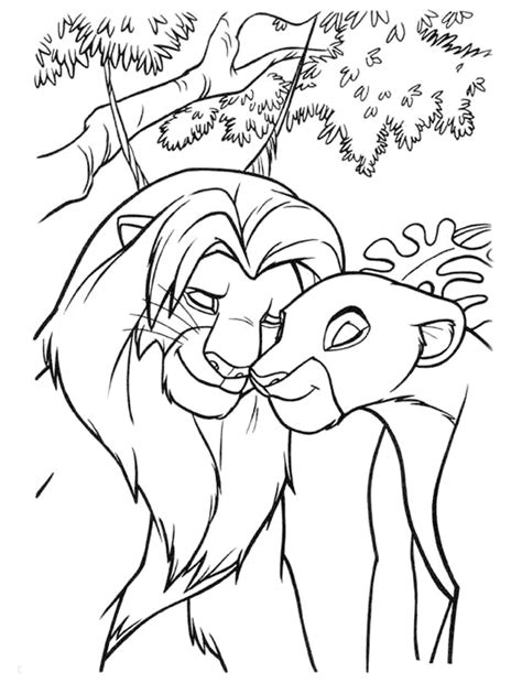 lion king coloring pages online lion king coloring pages best coloring pages for kids