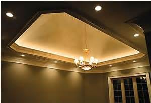 Tray Ceiling Lighting Rope Recessed Lighting And Tray Ceiling With Light Rope Cove