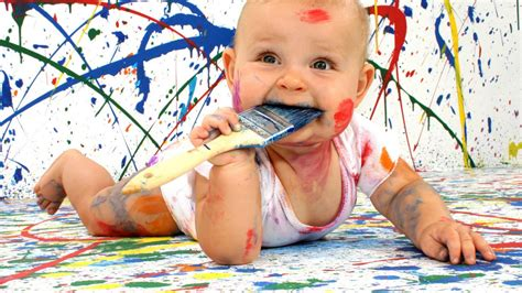 painting baby baby painting hd wallpaper stylishhdwallpapers