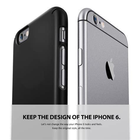 Rearth Ringke Slim Iphone 6 6s 4 7 etui ringke slim iphone 6 6s 4 7 gunmetal flavour design