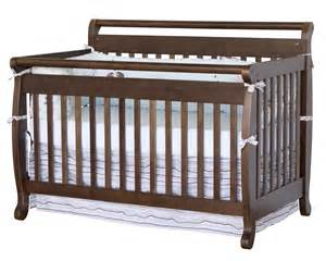 Convertible Baby Crib Davinci Emily 4 In 1 Convertible Baby Crib In Espresso W Toddler Rail M4791q