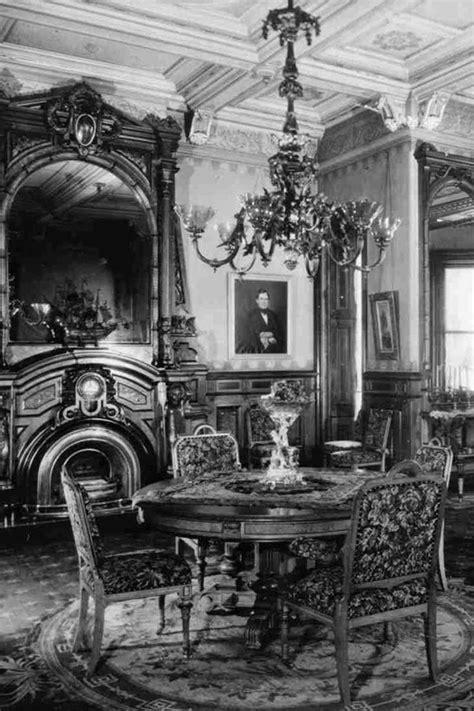 Dining Room   Victorian interiors, Mansions, Dining room