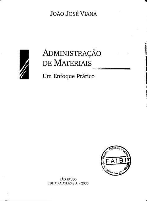 Administração de Materiais (João Jose Viana