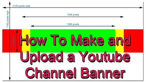 best photos of youtube banner size template youtube