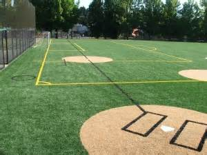 baseball field in backyard oakland yard athletics