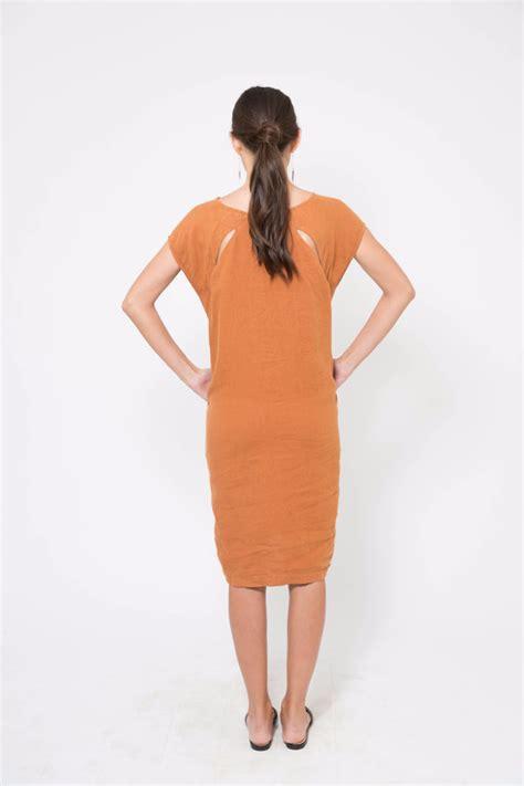 Open Slit Dress black crane back slit open dress garmentory