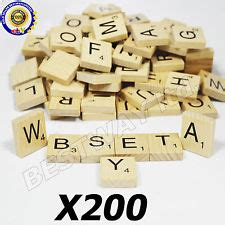 scrabble qa wooden scrabble tiles ebay