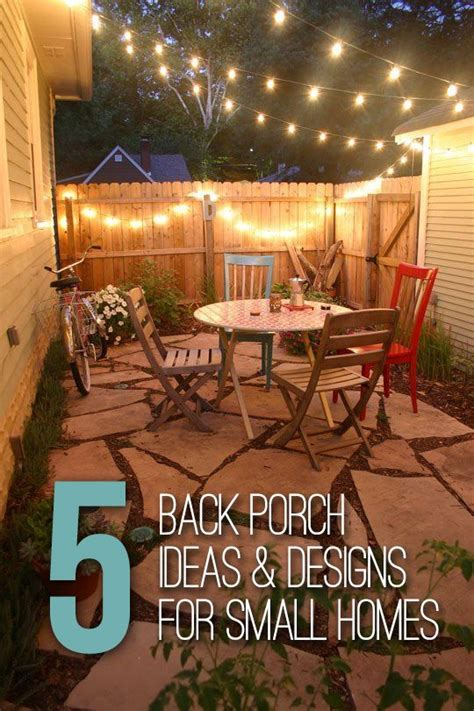porch ideas designs  small homes backyard