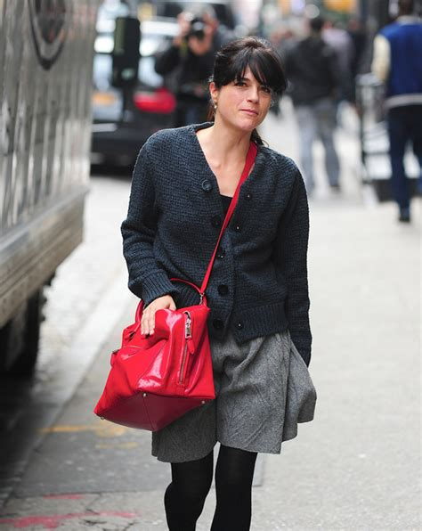 Marc Selma Blair With Marc Sweet Handbag by Selma Blair Brightens Up With Marc Purseblog