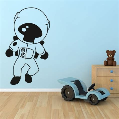 space wall stickers uk astronaut in space wall sticker wall chimp uk