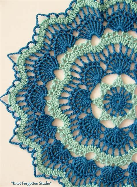 crochet pattern x s and o s free vintage crochet pattern pink pineapple doily 1951