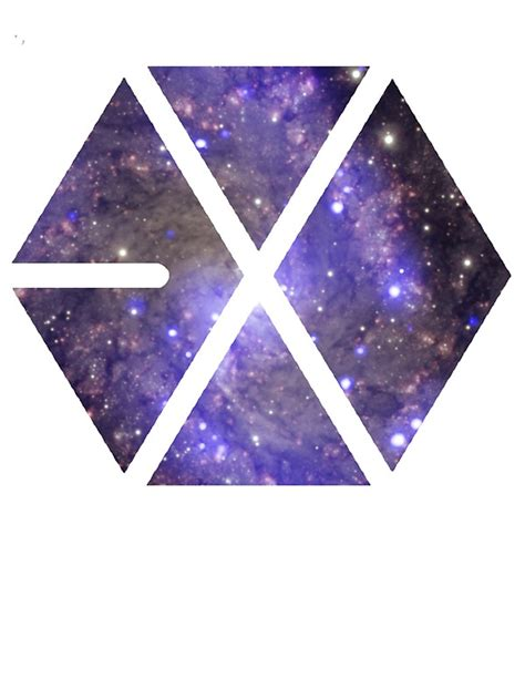 exo logo quot exo logo quot stickers by beforethedawn redbubble