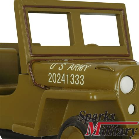 jeep wood box hugo koch us military willys jeep wooden collectible new