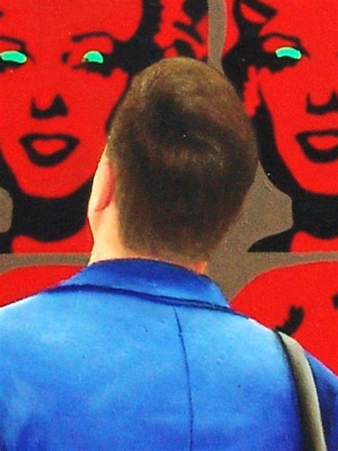 gerard boersma red marilyns painting acrylic  wood