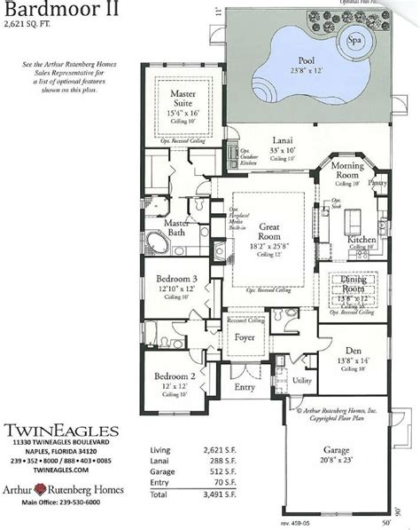 arthur rutenberg home plans home plan
