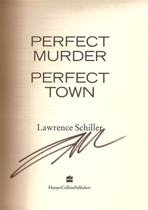 perfect murder perfect town mystery pier books inc