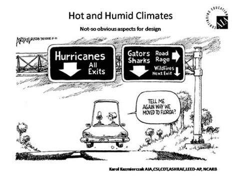 design criteria for hot and humid climate seminars at fau