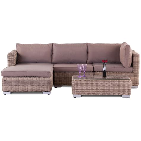 wicker couch set modena rattan chaise sofa set the uk s no 1 garden