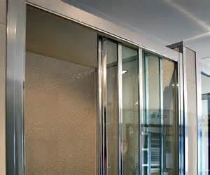 Sliding Door Shower Screens Front Only Framed Sliding Shower Screen Finished Shower Screens