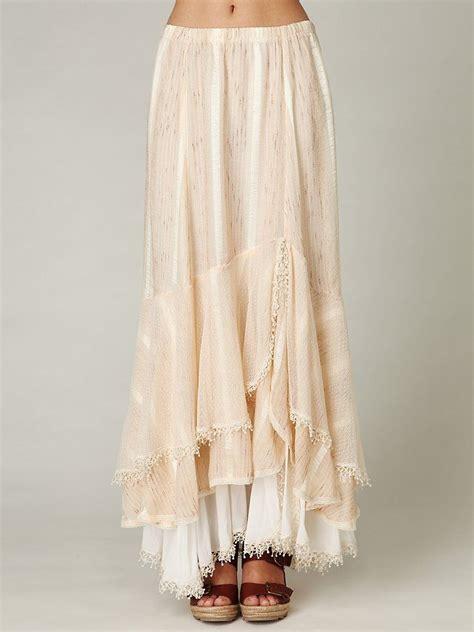 Layered Maxi Skirt moonbeam maxi skirt gorgeous semi sheer layered maxi
