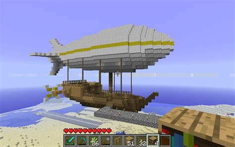 Small Home Blueprints Airship Minecraft Project