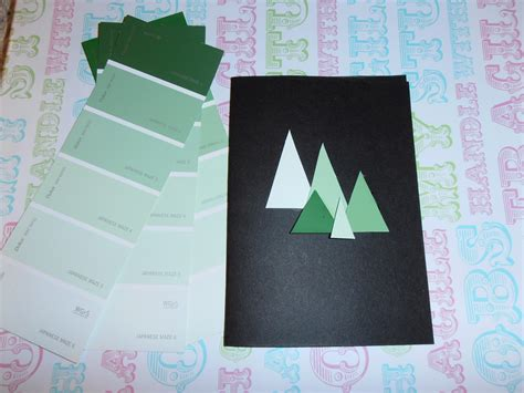 crafty free paint chip cards